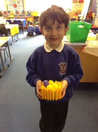 Wow! You've created a brilliant egg basket!