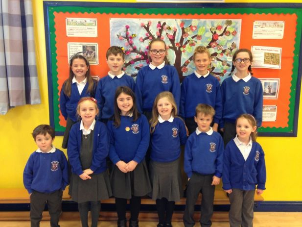 Our School Council Reps 2016/17